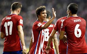 El Atlético de Madrid gana con un gol olímpico de Koke