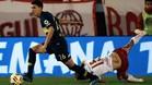 Balerdi, en acción con la camisete de Boca Juniors