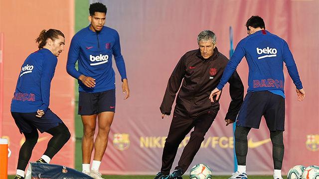 El Barça ultima su preparación de cara al partido contra el Valencia
