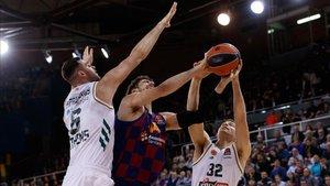 El Barça vista a Panathinaikos en la segunda vuelta de la Euroliga