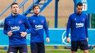 El Barcelona se ha entrenado en la Ciudad Deportiva del Deportivo Alavés