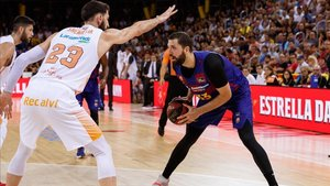 Baskonia y Barça se miden en el Buesa Arena