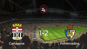 El Cartagena cae derrotado ante la Ponferradina (1-2)