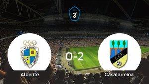 El Casalarreina se lleva tres puntos tras ganar 0-2 al Alberite