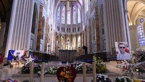 La catedral de Chartres ha albergado la ceremonia por Hubert