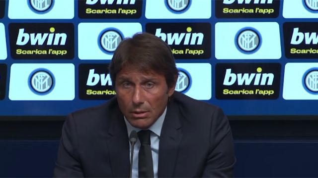 Conte respalda al club en el caso Icardi