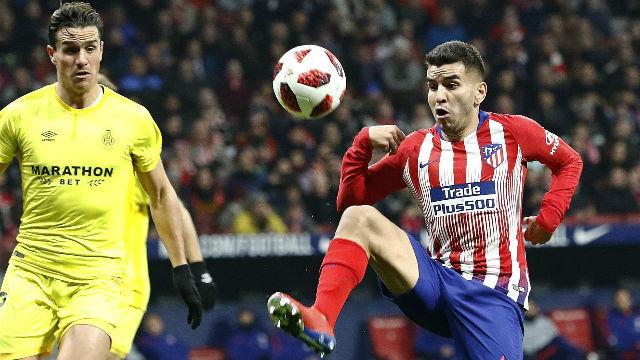 Correa marcó el segundo ante el Girona