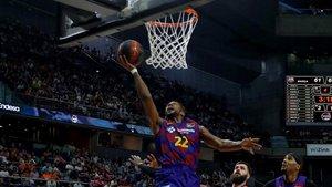 Cory Higgins fue clave en los últimos instantes de la semifinal ante Valencia Basket