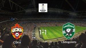 El CSKA Moscú y el Razgrad consiguen un punto tras empatar a uno