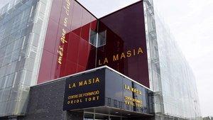 El edificio de la nueva Masia en la Ciutat Joan Gamper del FC Barcelona