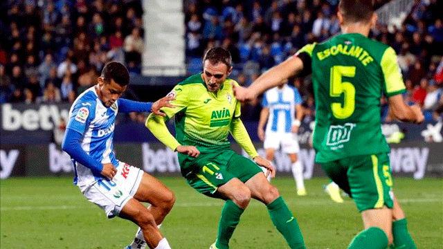 El Eibar da la vuelta al marcador y se lleva la victoria de Butarque