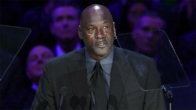 La emotiva despedida de Michael Jordan a Kobe Bryant