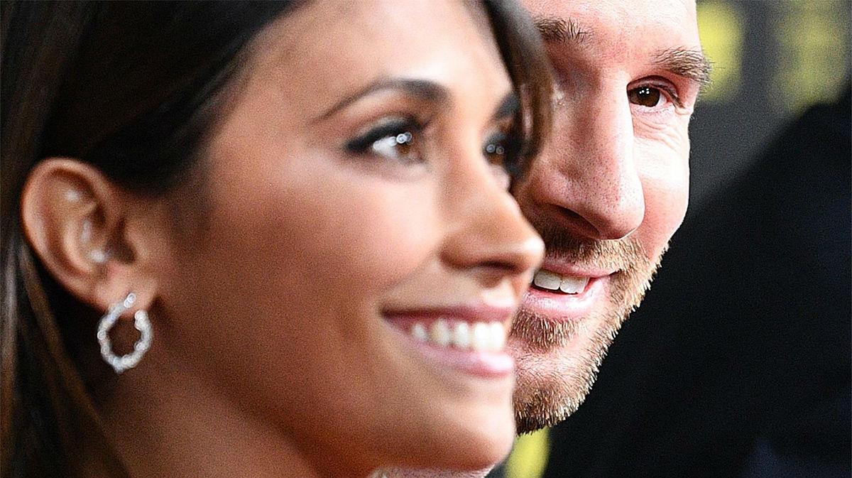 La felicitación de Antonela a Messi