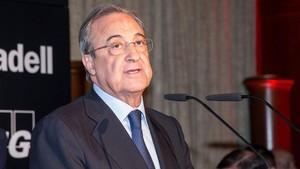 Florentino pasó revista a la actualidad del Madrid