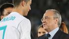 Florentino Pérez elogió a Cristiano Ronaldo