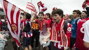 El Girona FC ha logrado el ascenso a LaLiga Santander en la 41ª jornada de liga
