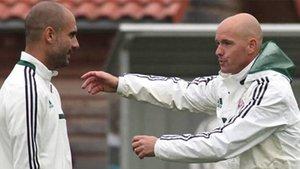 Guardiola y Ten Hag coincidieron en el Bayern