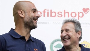 Guardiola, Txiki y Soriano abrirán un restaurante en Manchester