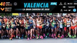Imagen de archivo del Maratón Valencia