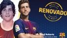 Sergi Roberto renueva hasta el 2022