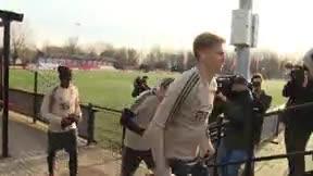 De Jong entrena con normalidad antes de recibir al Madrid