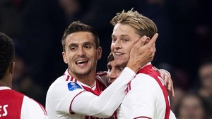 De Jong, jugador del Ajax