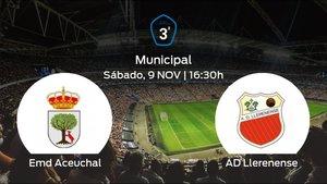 Jornada 13 de la Tercera División: previa del duelo Emd Aceuchal - Llerenense