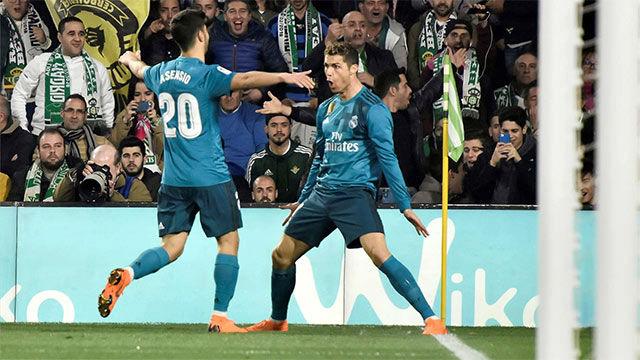 LALIGA | Betis - Real Madrid (3-5): Cristiano sentenció el partido con el cuarto gol