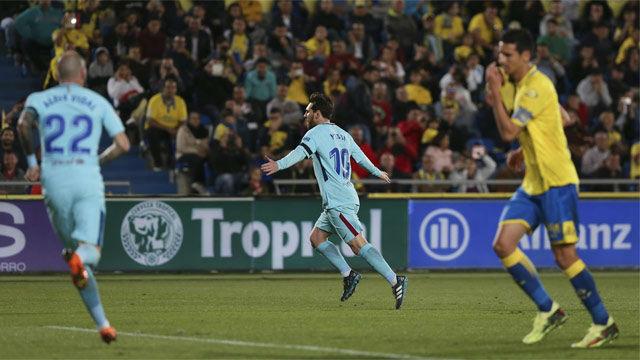 LALIGA | Las Palmas - Barcelona (1-1): El golazo de falta de Messi
