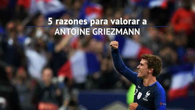 Las cinco razones por las que desear a Griezmann