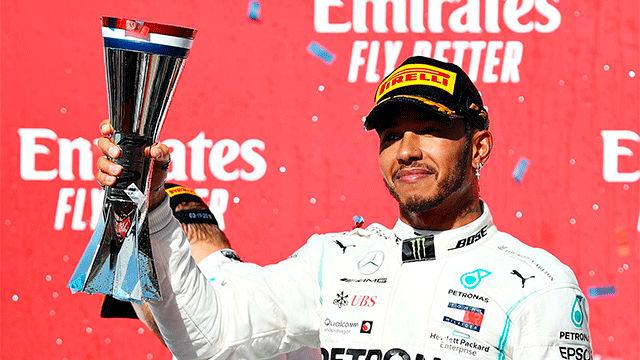 Lewis Hamilton, campeón del mundo
