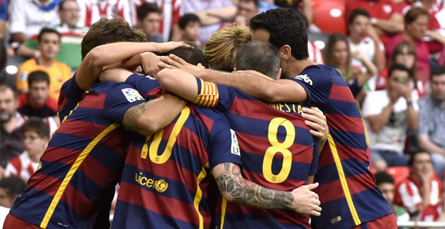 Liga BBVA: Los goles del Athletic-FC Barcelona
