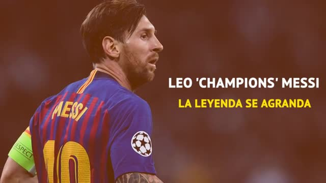 Lionel Champions Messi