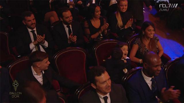 La loca reacción de Mateo con Thiago al conocer que su padre era el ganador del Balón de Oro