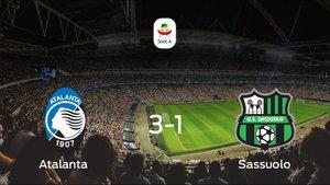 Los tres puntos se quedaron en casa: Atalanta 3-1 Sassuolo