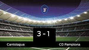Los tres puntos se quedaron en casa: Cantolagua 3-1 Pamplona