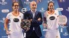 Lucía Sainz y Gemma Triay campeonas del Abierto Granada 2018