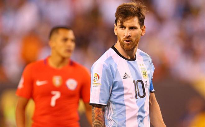 Messi, capitán de la selección argentina