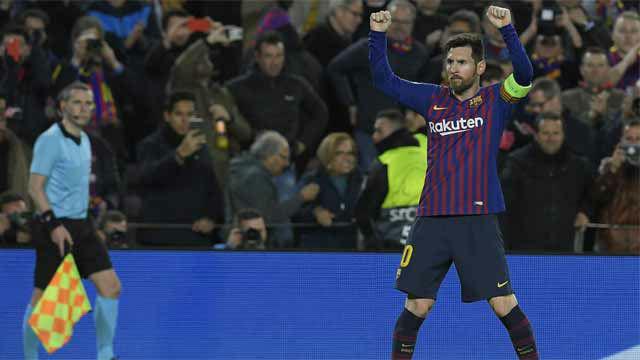 Messi elogia a Cristiano tras su exhibición contra el Atlético