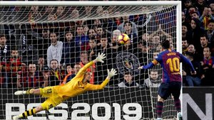 Messi regresó con dos goles más ante el Betis