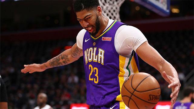 NBA VIDEO | Davis lideró la victoria de los Pelicans