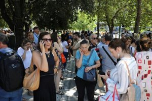 El pánico se apodera de Atenas tras un terremoto de magnitud 5,3
