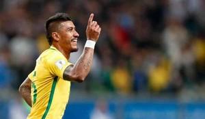 Paulinho está triunfando con Brasil