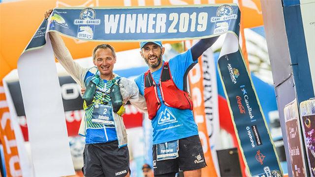 Pere Garau, Antoine Guillon y Lucía Pasamar, campeones en el Trail Menorca Camí de Cavalls