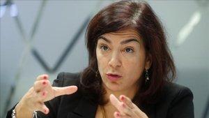 La presidenta del Consejo Superior de Deportes, María José Rienda