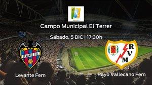 Previa del partido: el Levante Femenino recibe al Rayo Vallecano Femenino