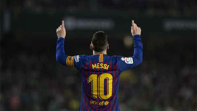 ¡Qué misil, qué zapatazo y qué obra de arte, por Dios!. Así narraron el gol de Messi en el Villamarín