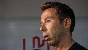Raúl Tamudo, uno de los que confía en la reacción del equipo.