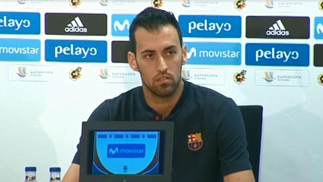 Sergio Busquets: Es obvio que faltan fichajes