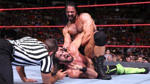 Seth Rollins perdió ante Drew McIntyre en Raw